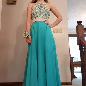Sherri Hill Beaded Gown - Size 2